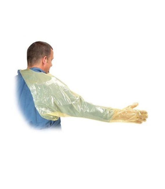 Rękawice inseminacyjne soft z ochraniaczem ramienia KRU-RVETO