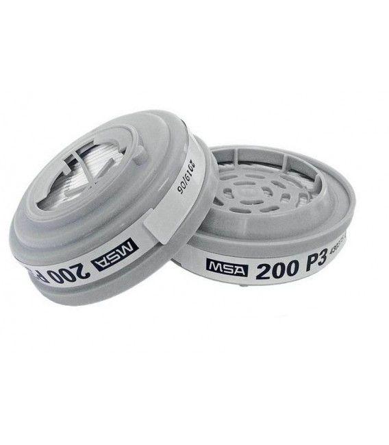 Filtr przeciwpyłowy do masek Advantage® MSA z podwójnym połączeniem bagnetowym typ P3