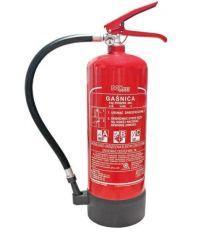 Gaśnica proszkowa do gaszenia pożarów grupy ABC 4 kg z podstawą BX-GP-4XABC-P