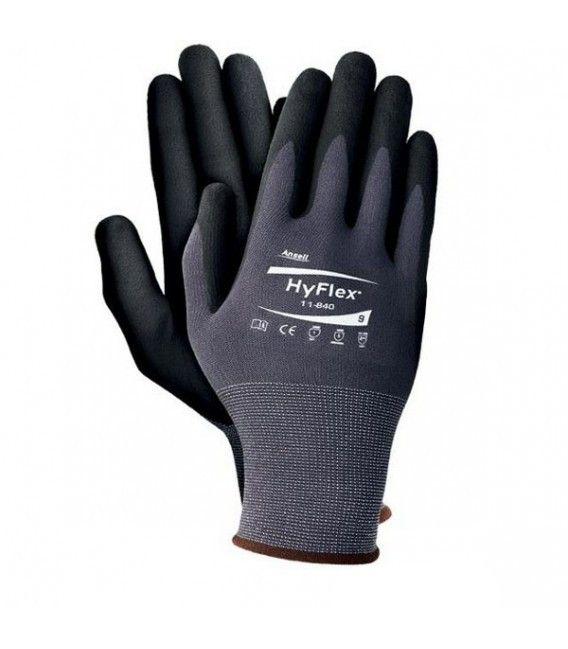 Rękawice powlekane nitrylem Ansell HYFLEX® 11-840