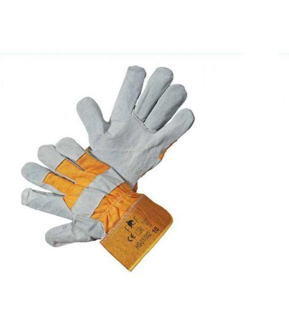 Rękawice wzmacniane skórą bydlęcą FRIDRICH&FRIDRICH HS-01-002 WZÓR: EIDER