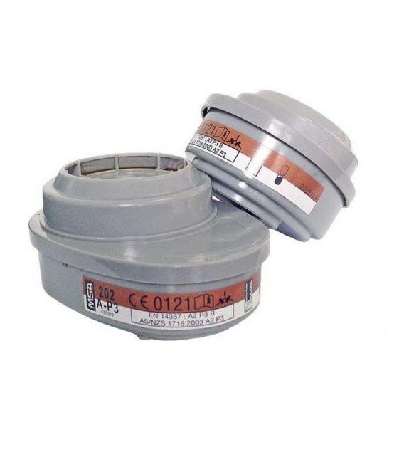 Filtropochłaniacze wymienne do półmasek i masek pełnotwarzowych Advantage® MSA typ A2P3