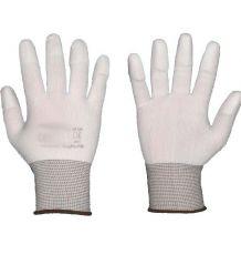 Rękawice ochronne, powlekane poliuretanem, palce RnyPuFin
