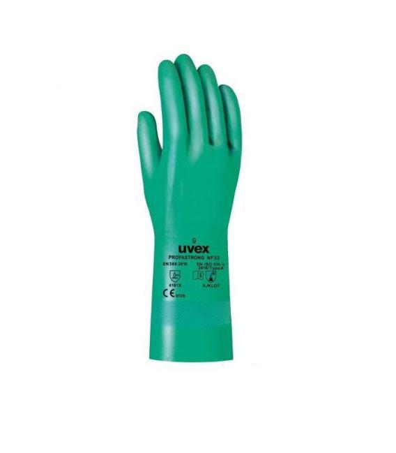 Rękawice chemoodporne z kauczuku nitrylowego PROFASTRONG NF33