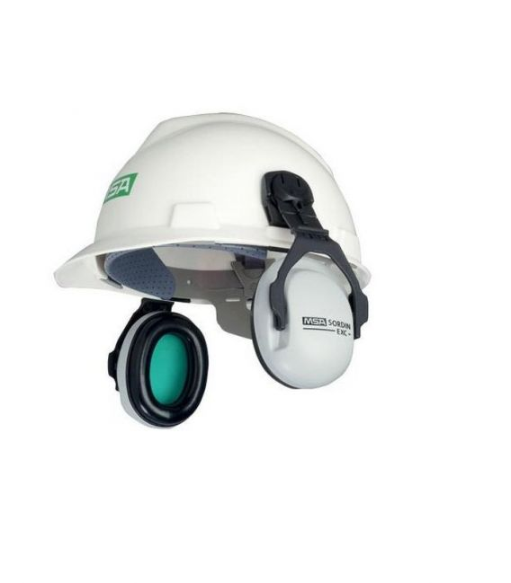 Ochronniki słuchu EXC montowane do hełmu MSA-OS-EXC-H, SNR-26 dB