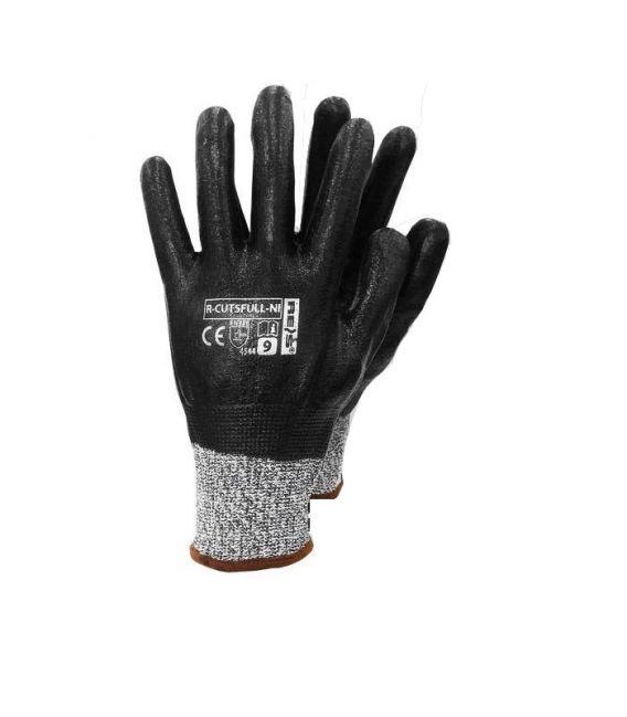 Rękawice przeciwprzecięciowe z włókna szklanego i HDPE R-CUT5FULL-NI