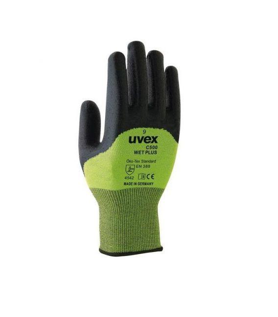 Rękawice antyprzecięciowe C500 do 100°C