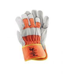 Rękawice wzmacniane skórą RSTOPER
