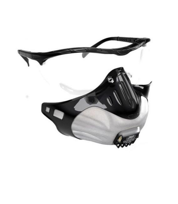 Półmaska filtrująca FFP2V + okulary - FILTERSPEC JSP