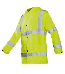 Trudnopalna antystatyczna kurtka ostrzegawcza przeciwdeszczowa SI-COCH