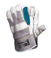 Rękawice wzmacniane skórą RBPOWERLUX