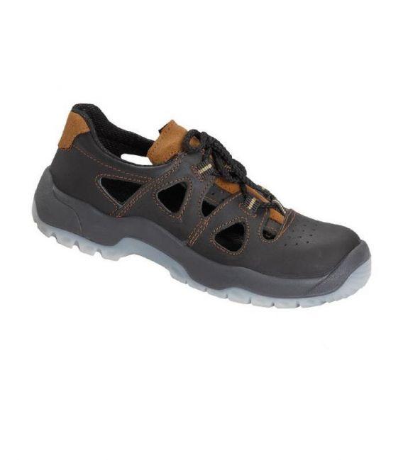 Sandały robocze z metalowym podnoskiem PPO model 52 S1 SRC