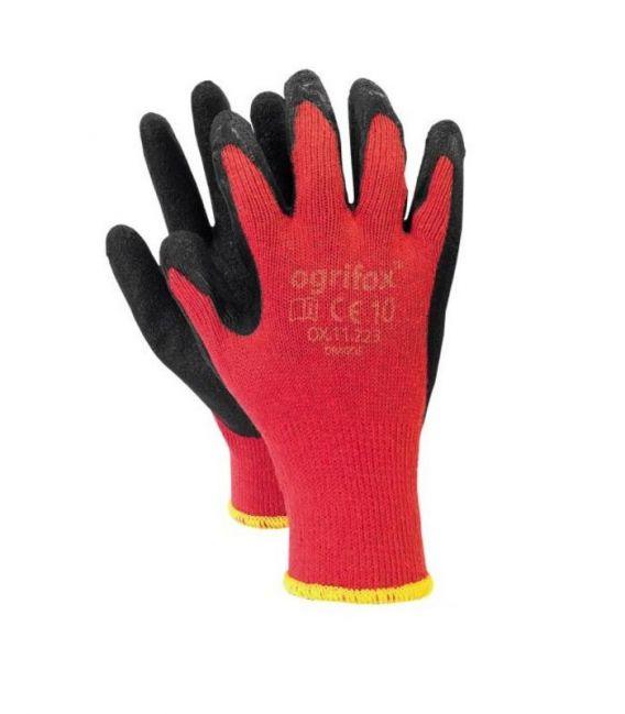 Rękawice powlekane lateksem OX-DRAGOS