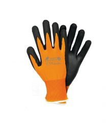 Rękawice powlekane dedykowane do prac z ekranami dotykowymi R-SCREEN