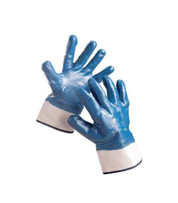 Rękawice powlekane nitrylem nitryl ciężki FRIDRICH&FRIDRICH HS-04-008 WZÓR: SWIFT