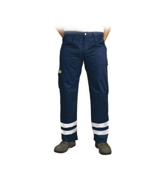 Spodnie robocze do pasa z pasami odblaskowymi LH-VOBSTER_X