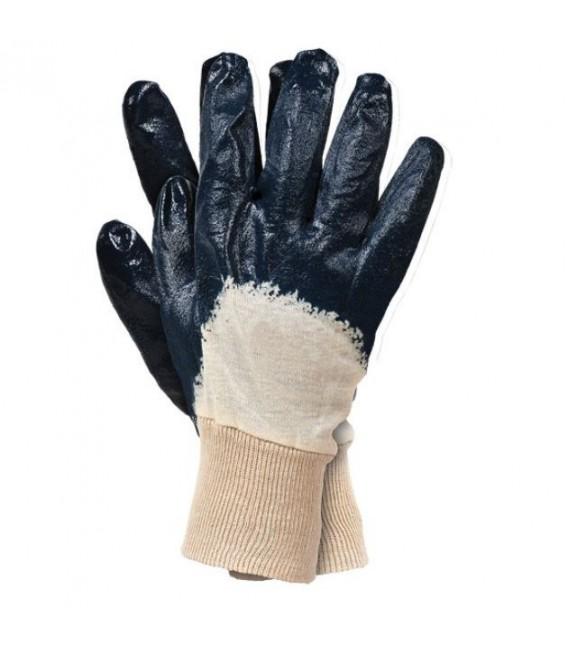Rękawice ochronne, powlekane nitryl lekki RECONIT 10 niebieski