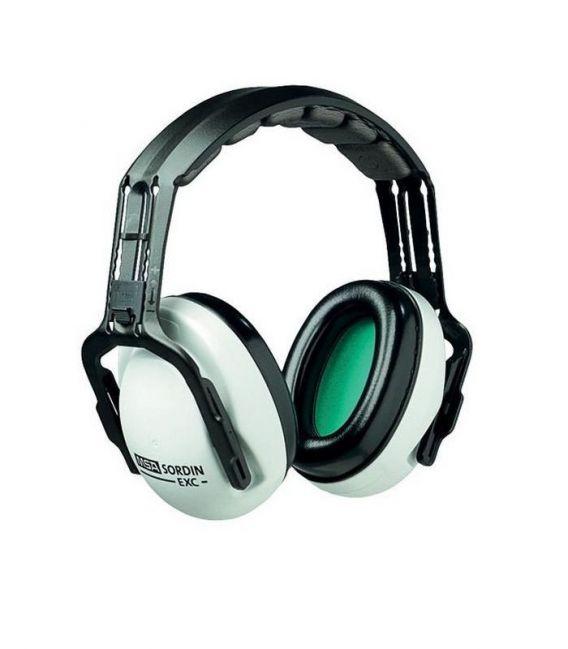 Ochronniki słuchu na pałąku nagłownym EXC SNR-27 dB