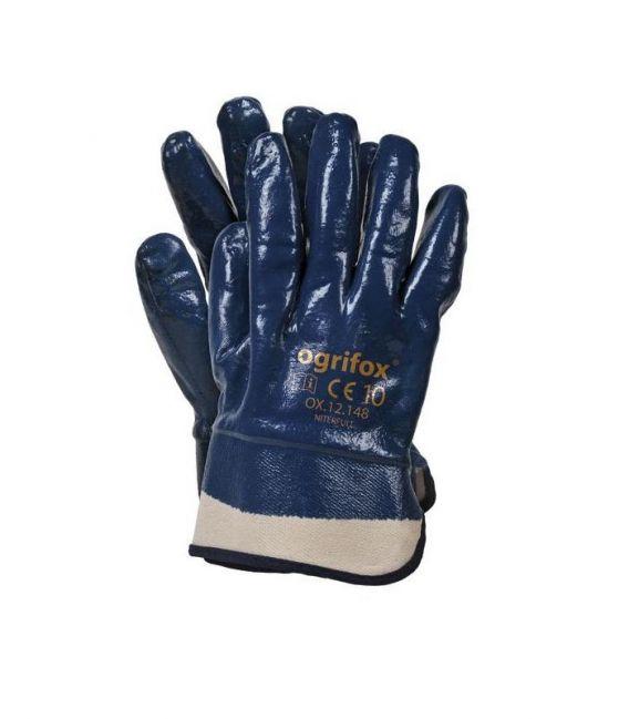 Rękawice ochronne powlekane nitryl ciężki OX-NITERFULL