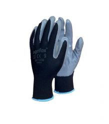 Rękawice ochronne z poliestru, powlekane nitrylem OX-NITRICAR