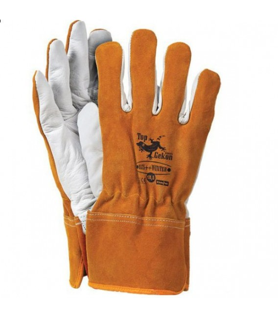 Rękawice ocieplane, skórzane RLCS++WINTER