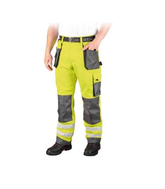 Spodnie robocze odblaskowe do pasa FORMEN LH-FMNX-T