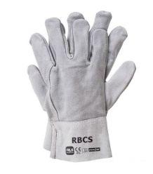 Rękawice długie ze skóry bydlęcej RBCS