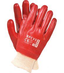 Rękawice ochronne powlekane PCV RPCVS
