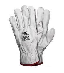 Rękawice skórzane licowe, kozie RLCS+