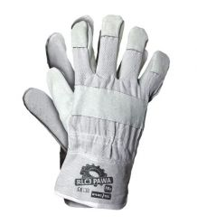Rękawice skórzano-tkaninowe RLCJPAWA