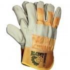 Rękawice wzmacniane skórzano-tkaninowe RLCJMY