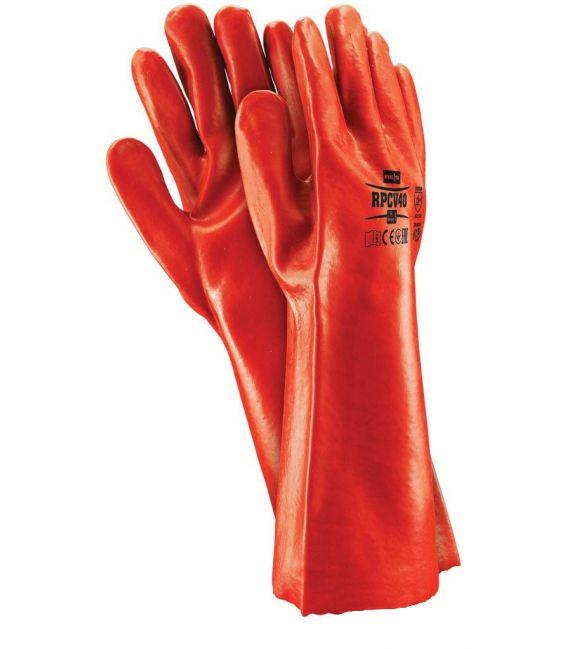 Rękawice ochronne powlekane PCV RPCV35 i RPCV40