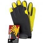 Rękawice tkaninowo - skórzane RMECH