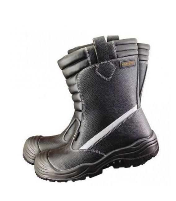 Buty robocze trzewiki wysokie ocieplane BCU S3