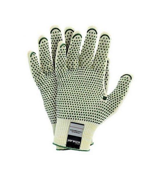 Rękawice ochronne dziane PRZECIWPRZECIĘCIOWE RJ-KEVLAFIBV