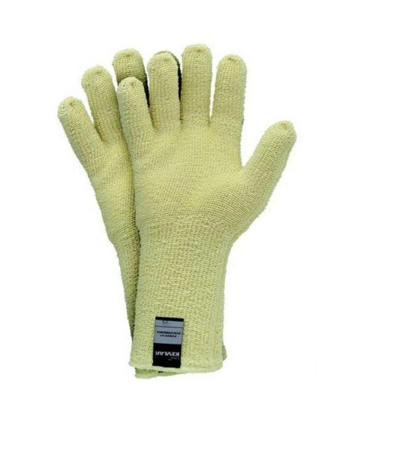 Rękawice dziane termiczne z zewnątrz Kevlar® RJ-KEFRO35 do 350°C