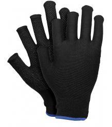 Rękawice z poliestru z jednostronnym nakropieniem POLFINGER-DOT