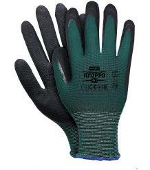 Rękawice ochronne powlekane spienionym lateksem RFOPPO