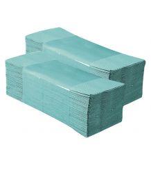 Pojedyncze ręczniki papierowe STANDARD zielone