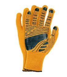 Rękawice powlekane nakrapiane, fluorescencyjne FLOATEX-NEO