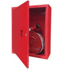 Hydrant wewnętrzny zawieszany z wężem płasko składanym