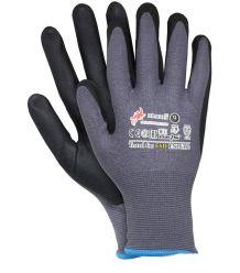 Rękawice antyelektrostatyczne powlekane nitrylem RBLACKFOAM-T ESD