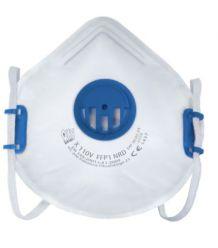 Półmaska filtrująca z zaworem wydechowym i regulowaną taśmą nagłowia X110 V FFP1 NR D