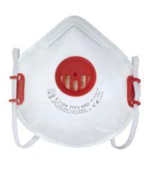 Półmaska filtrująca z zaworem wydechowym i regulowaną taśmą nagłowia X210 V FFP2 NR D