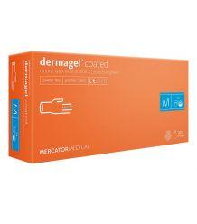 Rękawice lateksowe lekko pudrowane diagnostyczne DERMAGEL easyCARE
