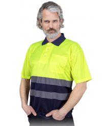 Koszulka polo ostrzegawcza z krótkim rękawem POLO-NEO