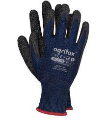 Rękawice ochronne powlekane lateksem materiał spandex OX-MELAT