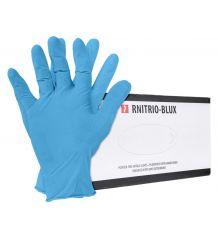 Rękawice nitrylowe bezpudrowe RNITRIO-BLUX