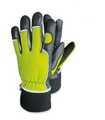 Rękawice ochronne ocieplane skórzano-tkaninowe RMC-WINMICROM