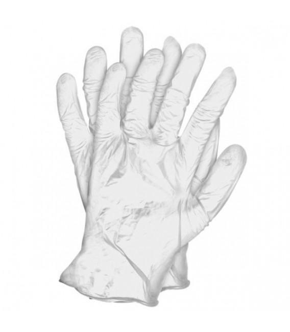 Rękawice diagnostycze winylowe pudrowane RVIN-T
